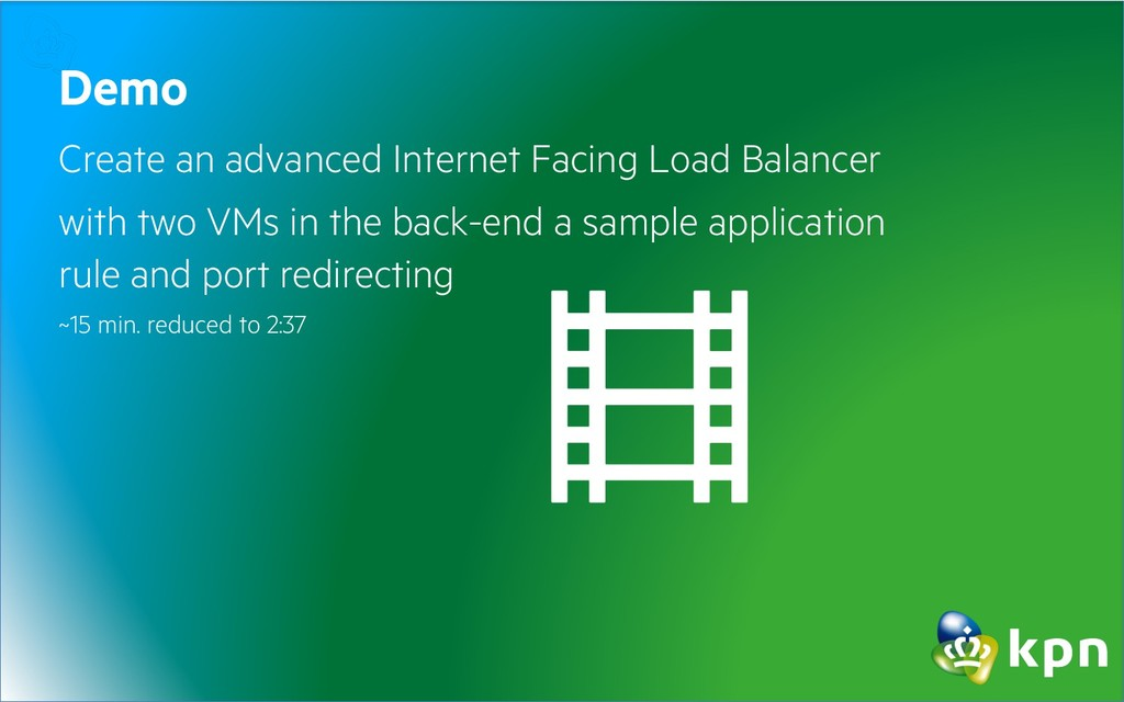 Demo Create an advanced Internet Facing Load Ba...