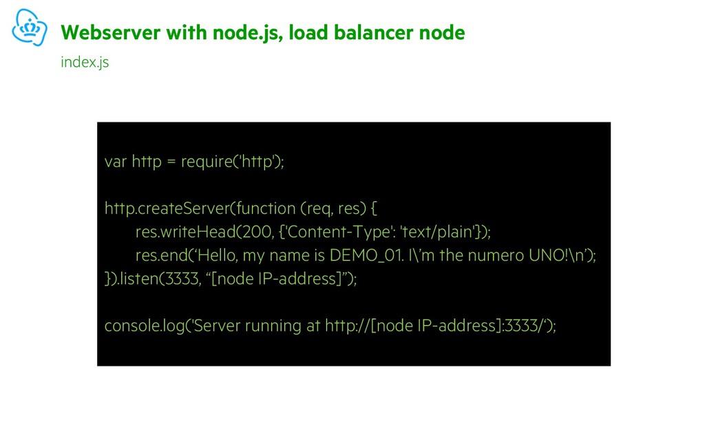 var http = require('http'); http.createServer(f...