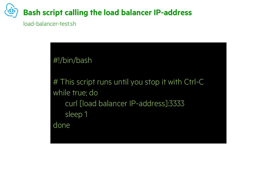 #!/bin/bash # This script runs until you stop i...