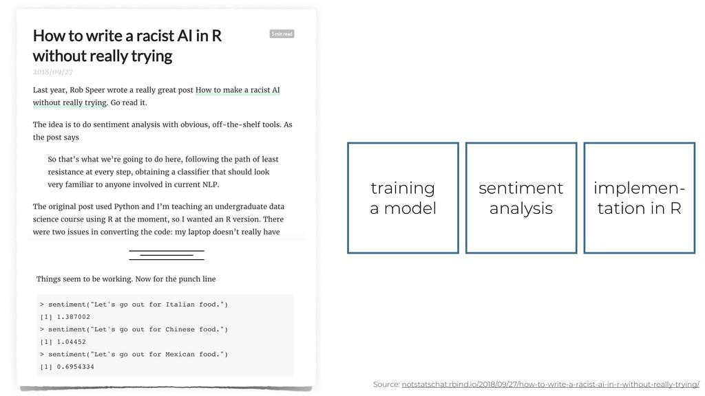 training a model sentiment analysis implemen- t...