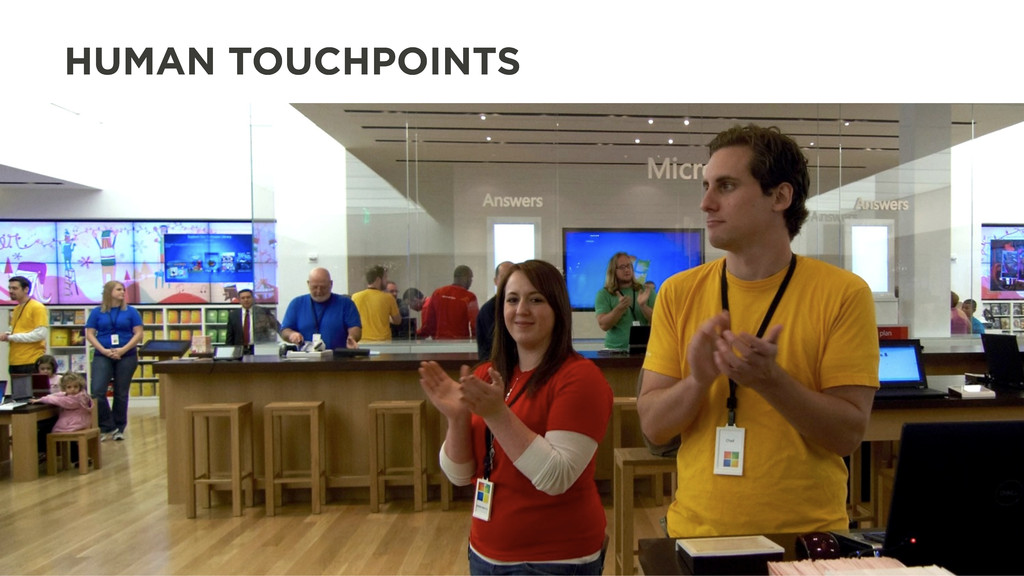 HUMAN TOUCHPOINTS