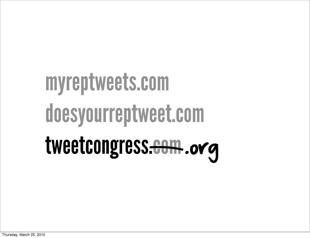 myreptweets.com doesyourreptweet.com tweetcongr...