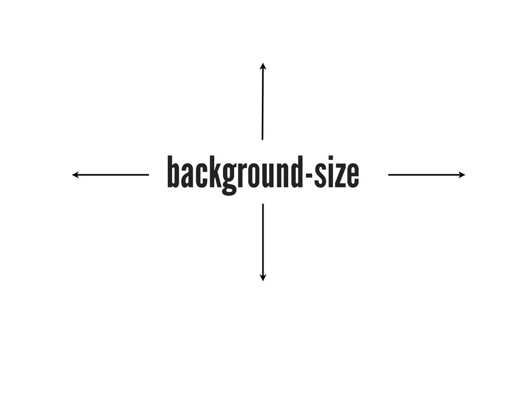 background-size