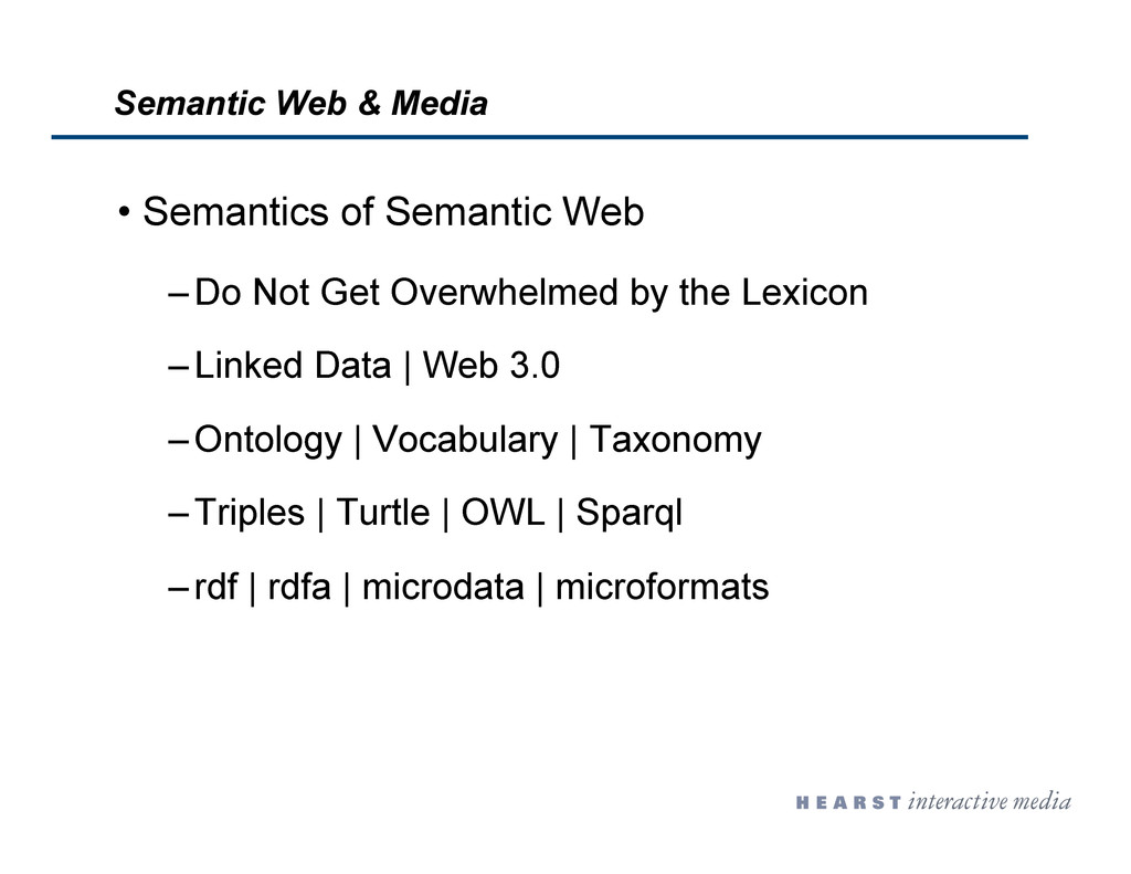 •  Semantics of Semantic Web – Do Not Get Overw...