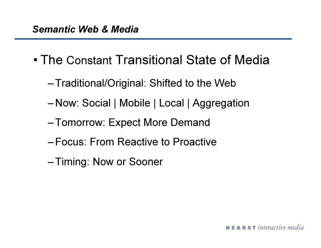 • The Constant Transitional State of Media – Tr...