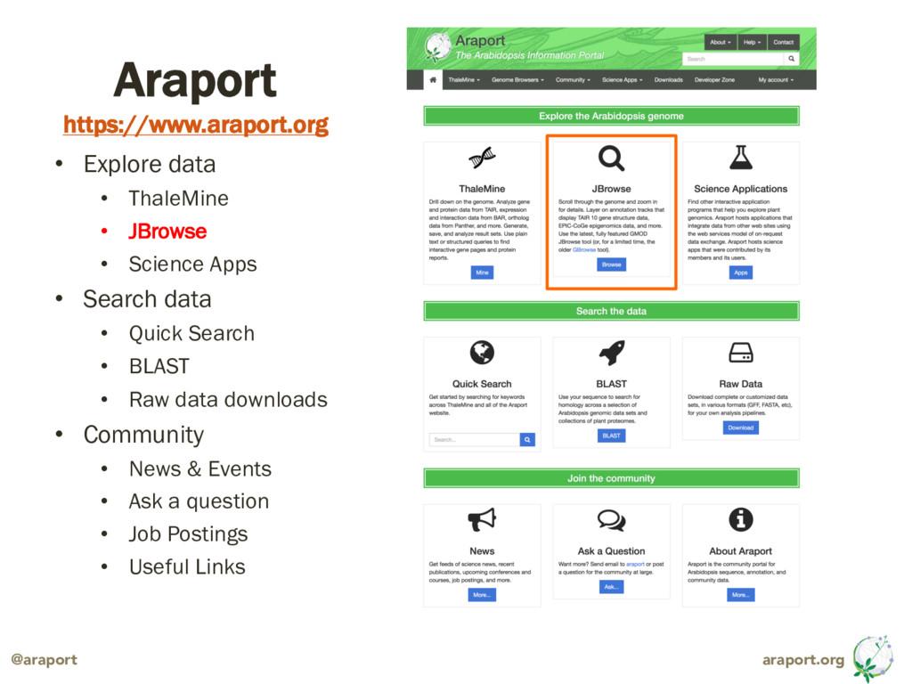 araport.org @araport Araport https://www.arapor...
