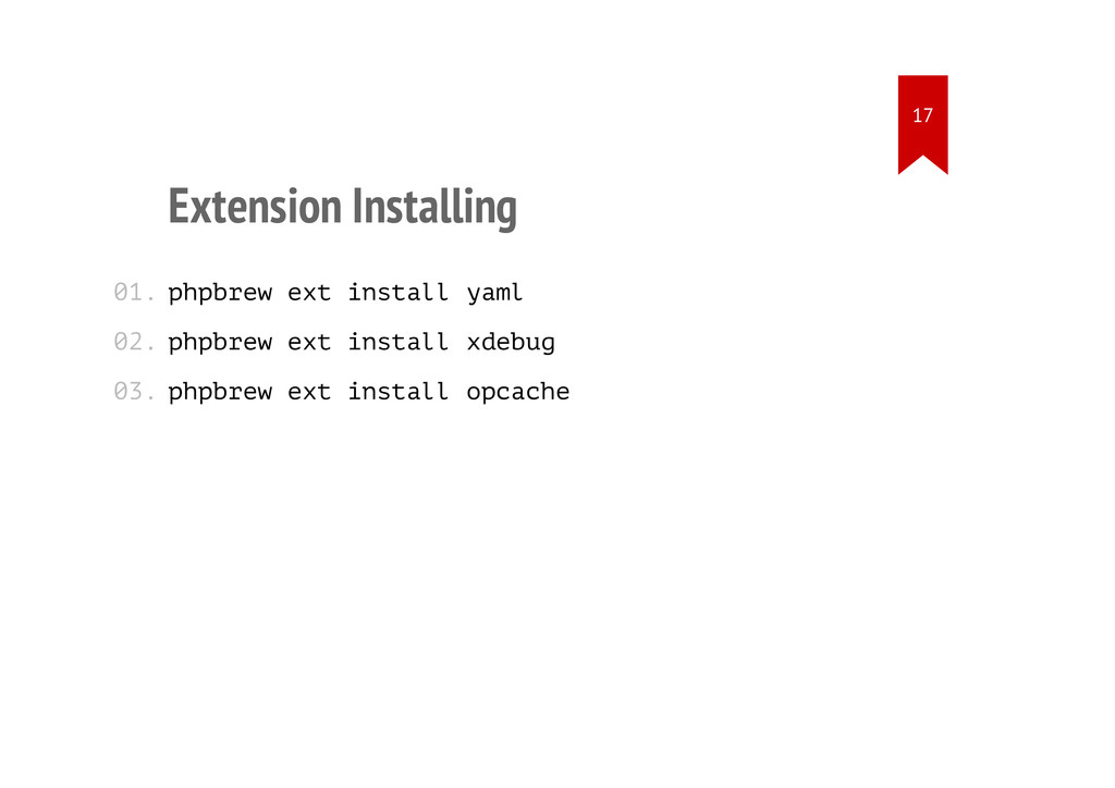 Extension Installing phpbrew ext install yaml p...