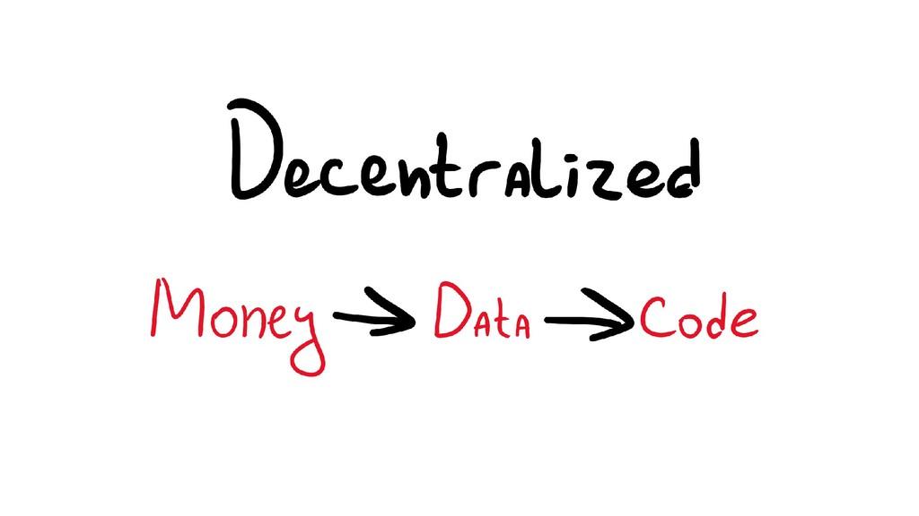 Data -> Code