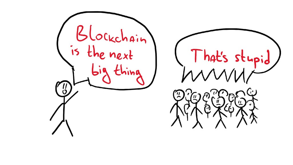 Blockchain the next big thing & people laughing