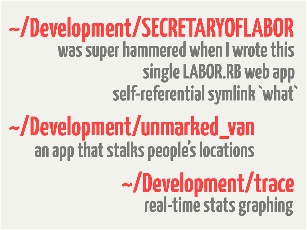 ~/Development/SECRETARYOFLABOR self-referential...