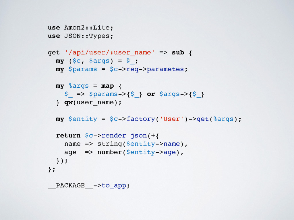 use Amon2::Lite; use JSON::Types; get '/api/use...