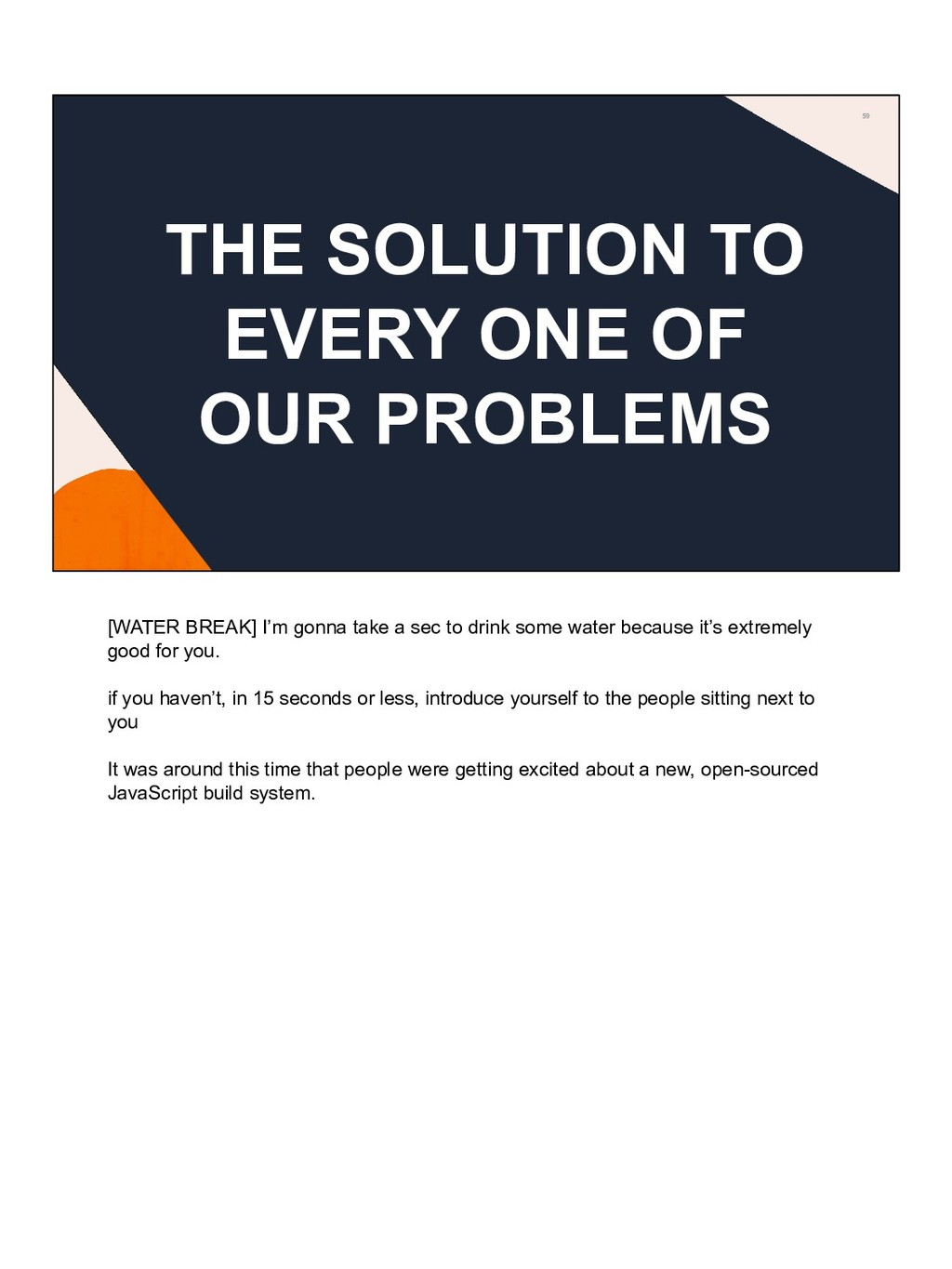 59 THE SOLUTION TO EVERY ONE OF OUR PROBLEMS [W...