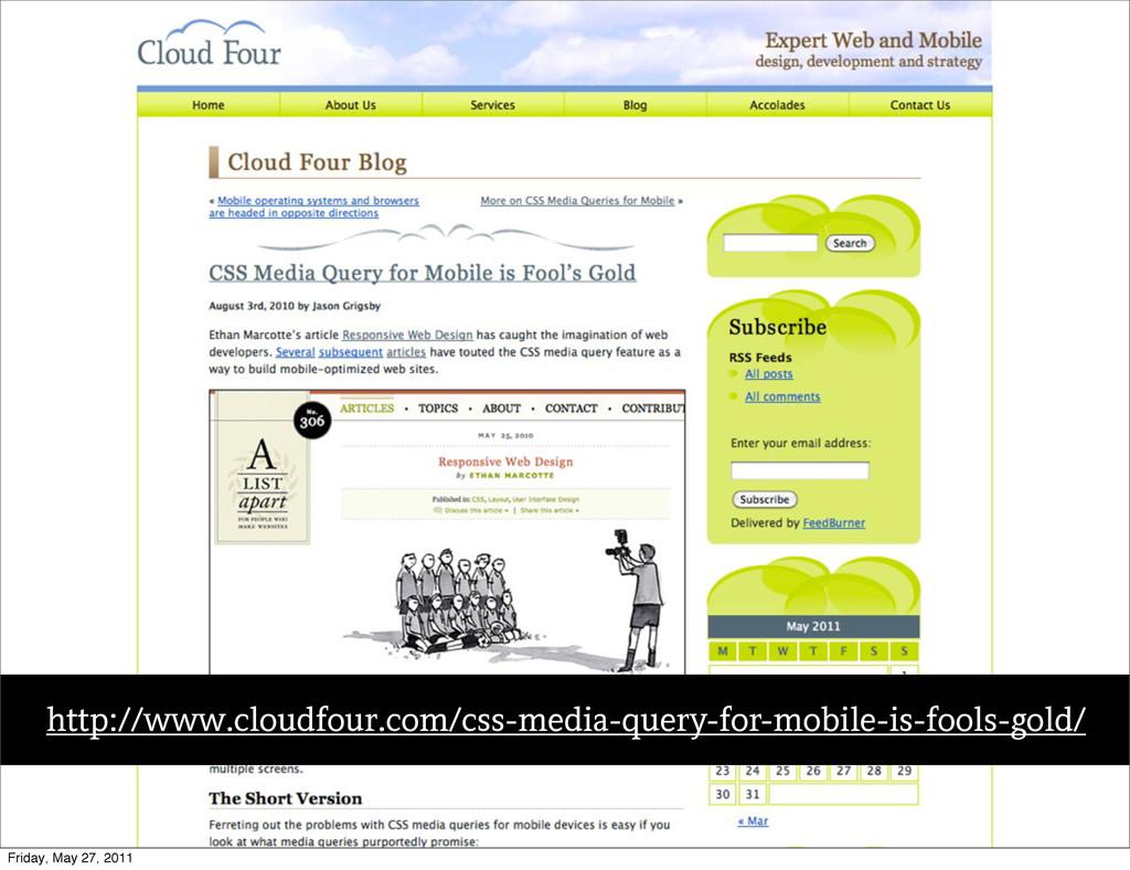 Text http://www.cloudfour.com/css-media-query-f...