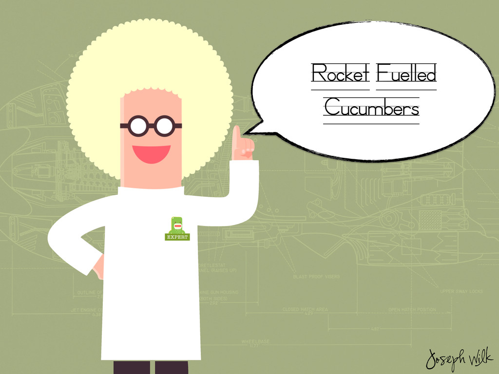 Rocket Fuelled Cucumbers Joseph Wilk