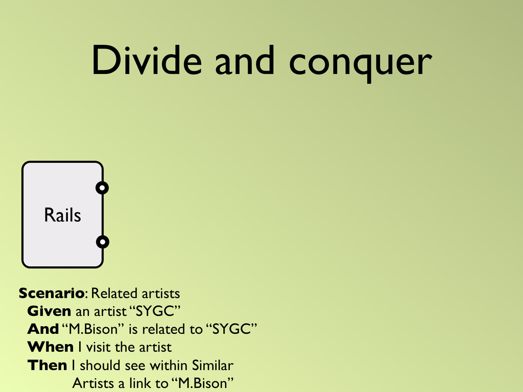 Divide and conquer Rails Scenario: Related arti...