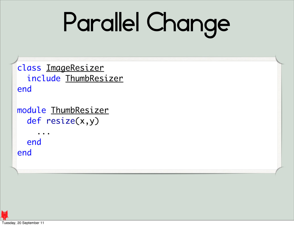 Parallel Change class ImageResizer include Thum...