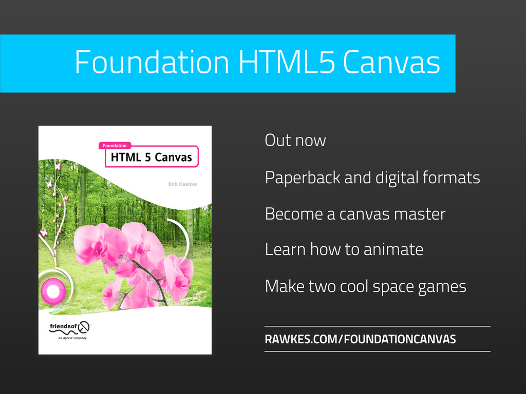 Become a canvas master RAWKES.COM/FOUNDATIONCAN...