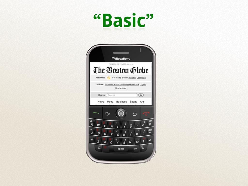 """""""Basic"""""""