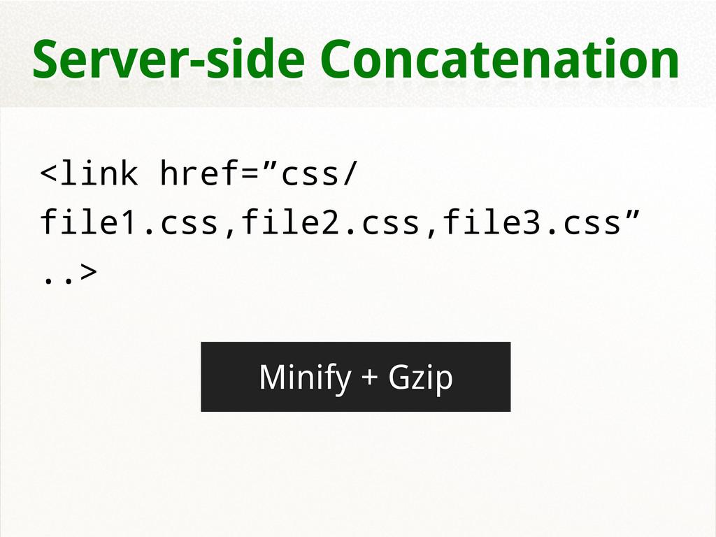 "Server-side Concatenation <link href=""css/ file..."
