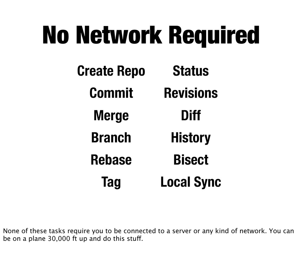 No Network Required Create Repo Commit Merge Br...