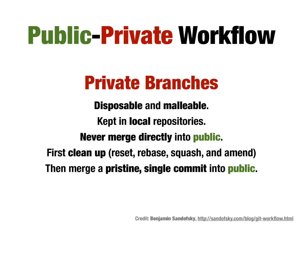 Private Branches Disposable and malleable. Kept...
