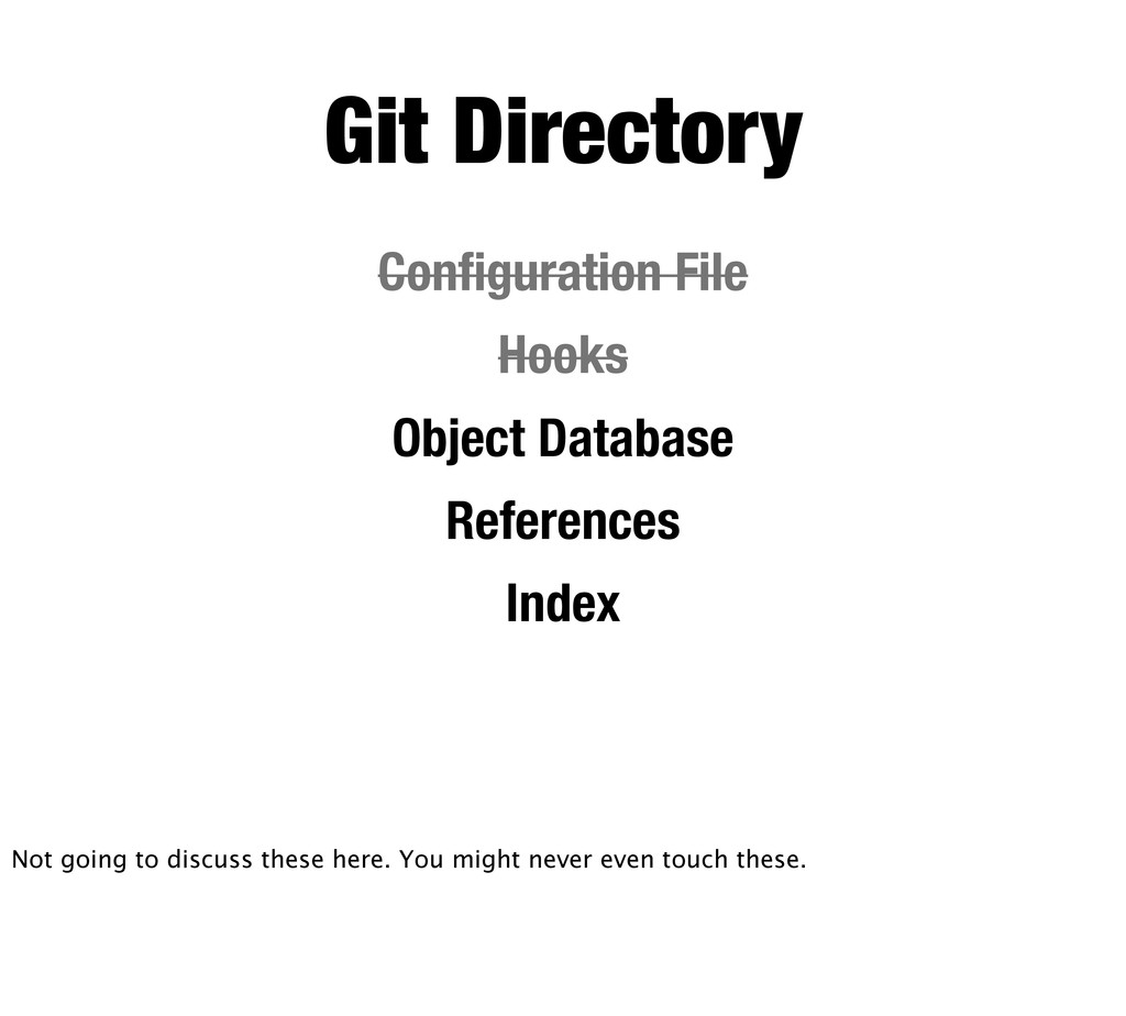 Git Directory Configuration File Hooks Object Da...