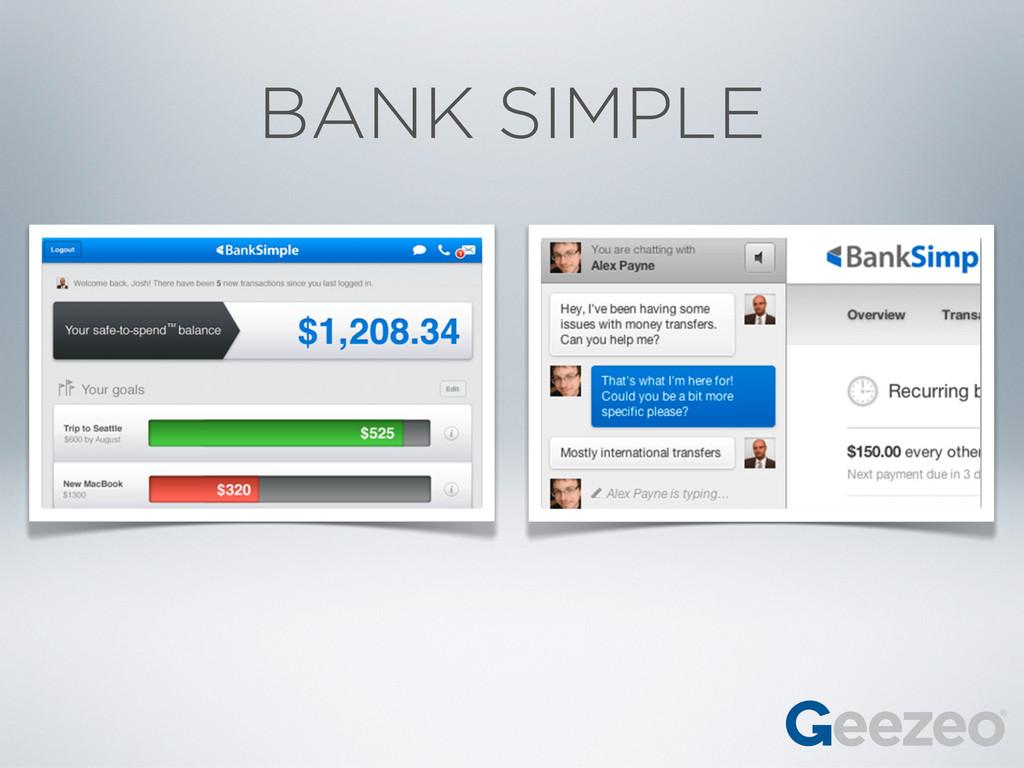 BANK SIMPLE