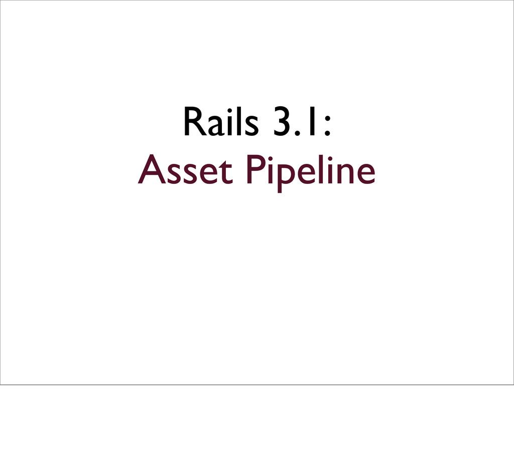 Rails 3.1: Asset Pipeline