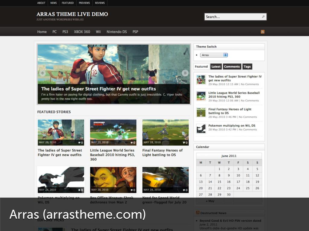 Arras (arrastheme.com)