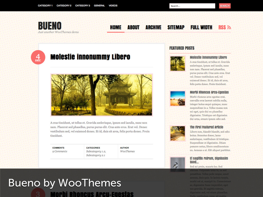 Bueno by WooThemes