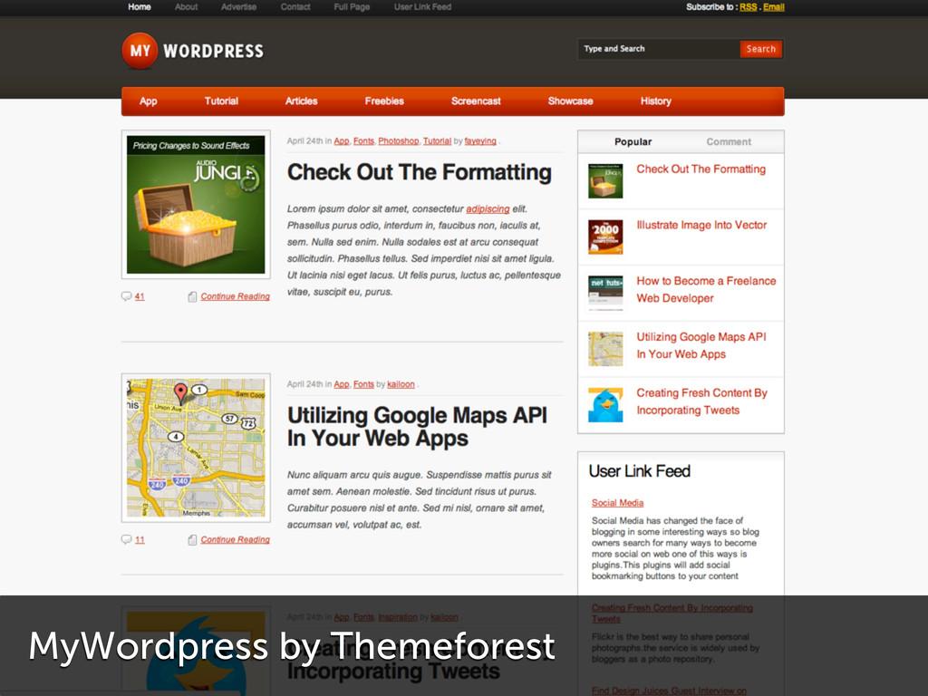 MyWordpress by Themeforest