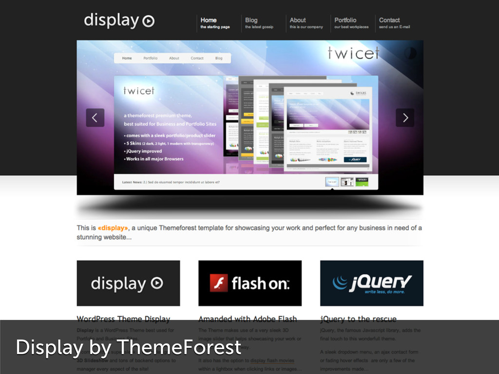 Display by ThemeForest