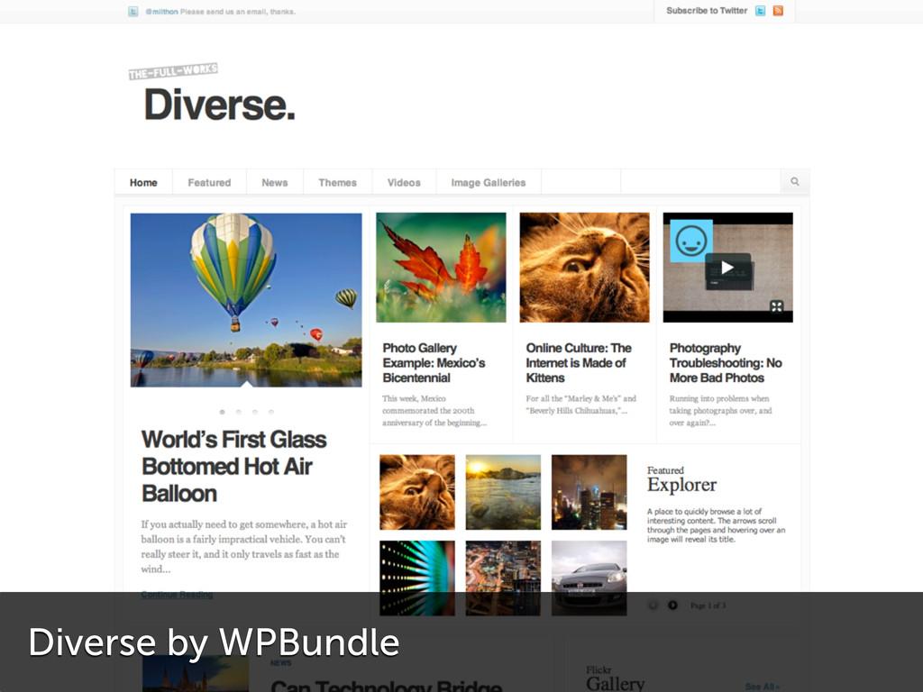 Diverse by WPBundle