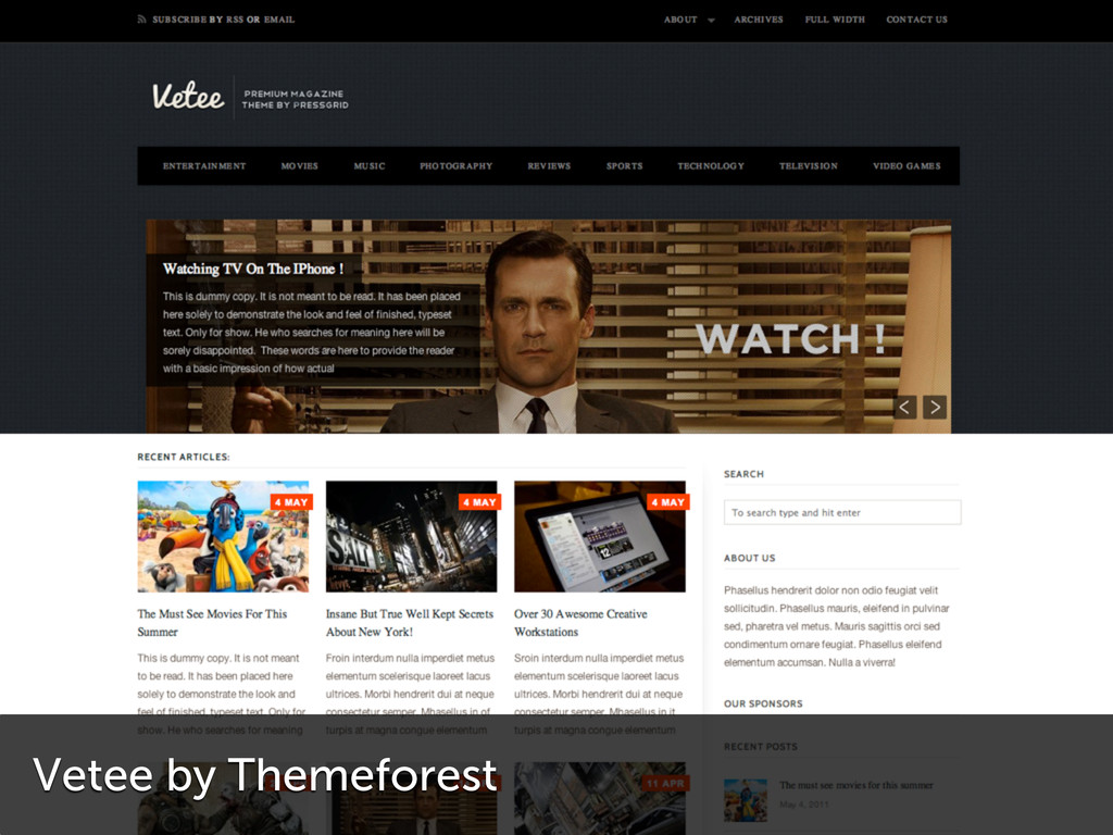 Vetee by Themeforest