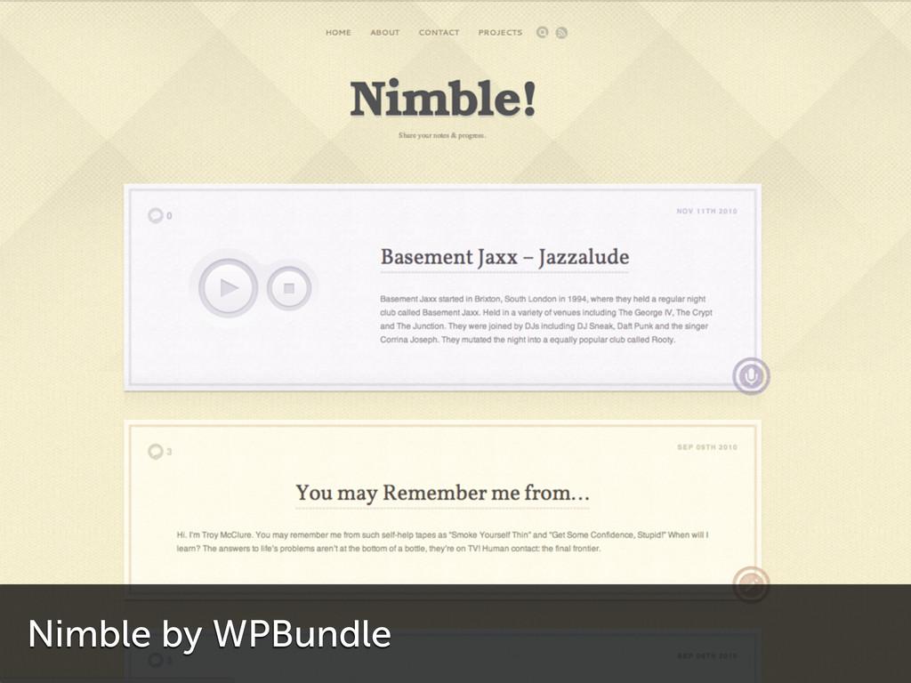 Nimble by WPBundle