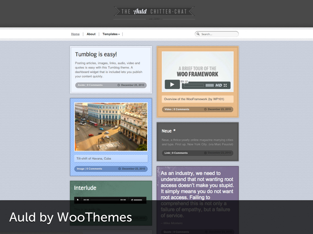 Auld by WooThemes