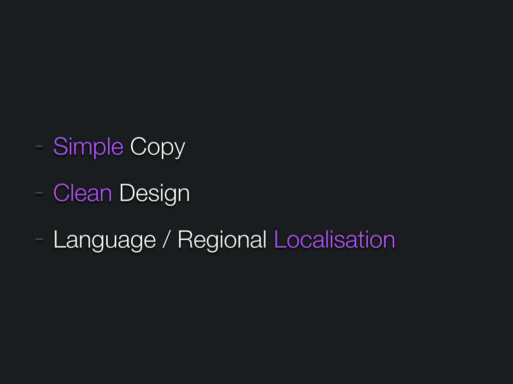 - Simple Copy - Clean Design - Language / Regio...