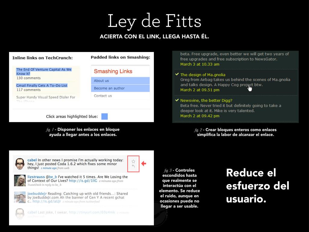 Ley de Fitts ACIERTA CON EL LINK, LLEGA HASTA É...