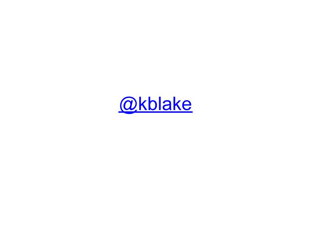 @kblake