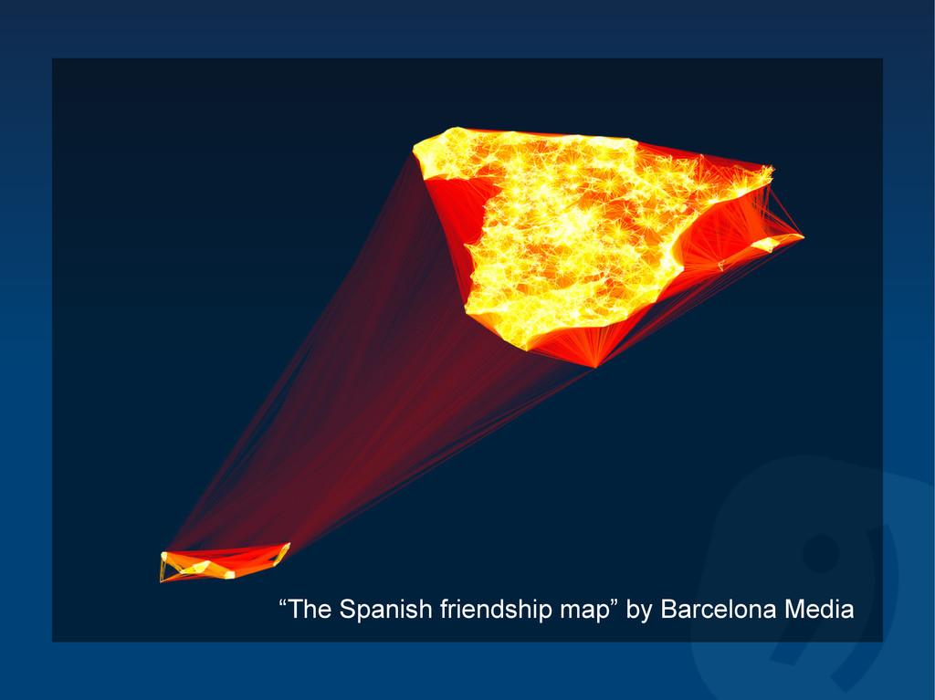"""The Spanish friendship map"" by Barcelona Media"