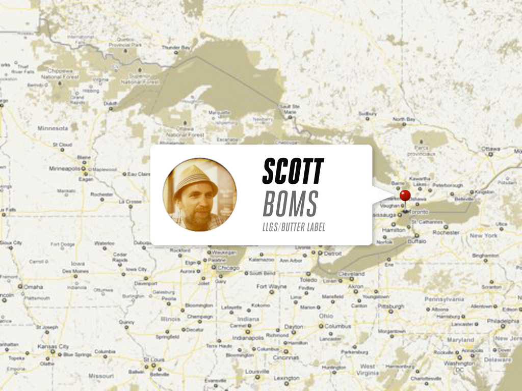 SCOTT BOMS LL&S/BUTTER LABEL