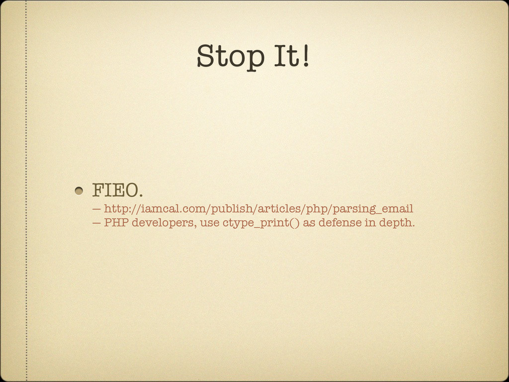 FIEO. — http://iamcal.com/publish/articles/php/...