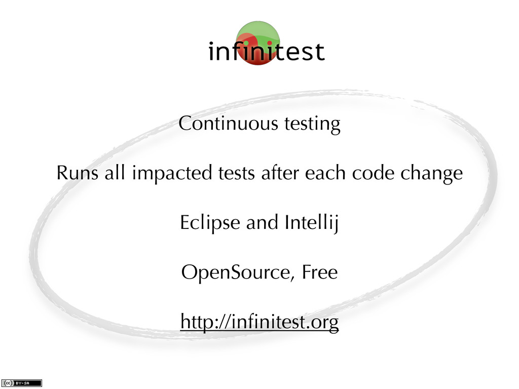 Continuous testing Runs all impacted tests afte...