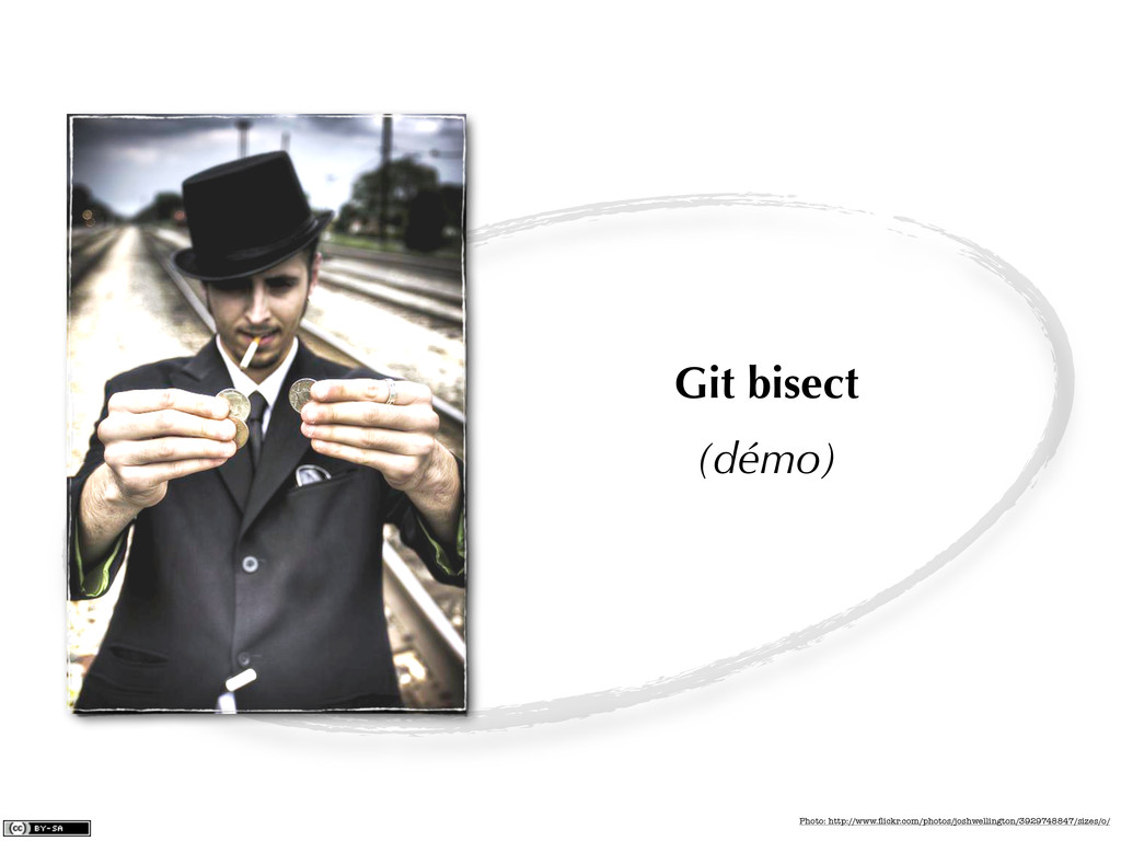 Git bisect (démo) Photo: http://www.flickr.com/p...