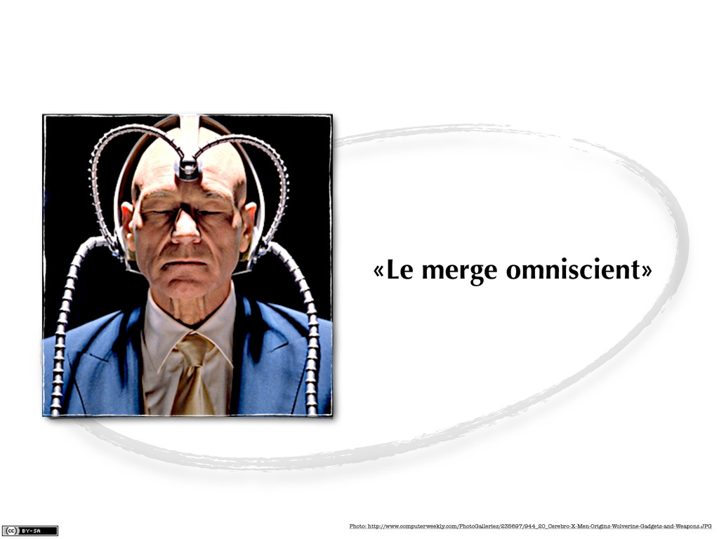 «Le merge omniscient» Photo: http://www.compute...