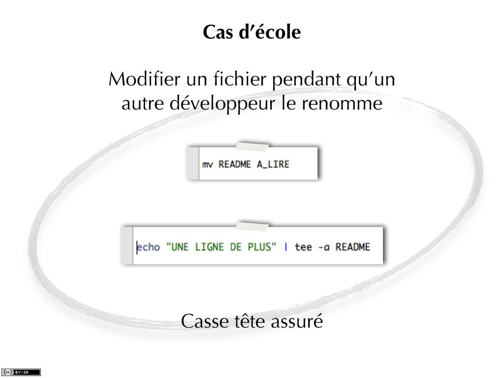 Modifier un fichier pendant qu'un autre développe...