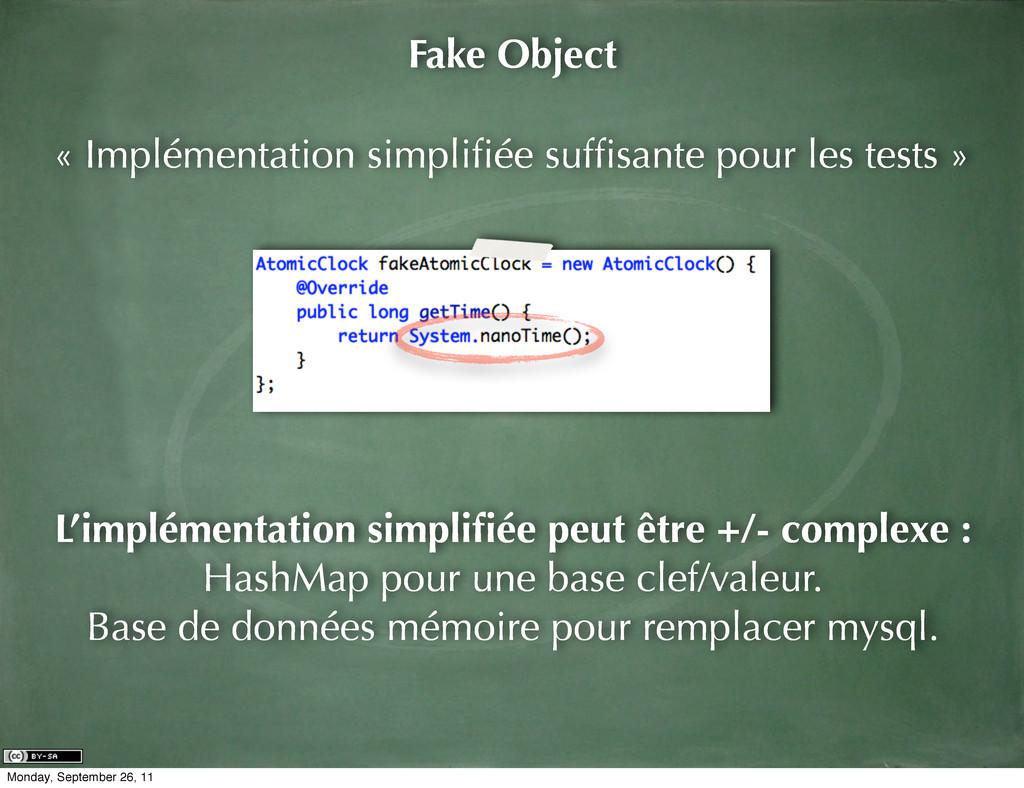 « Implémentation simplifiée suffisante pour les t...
