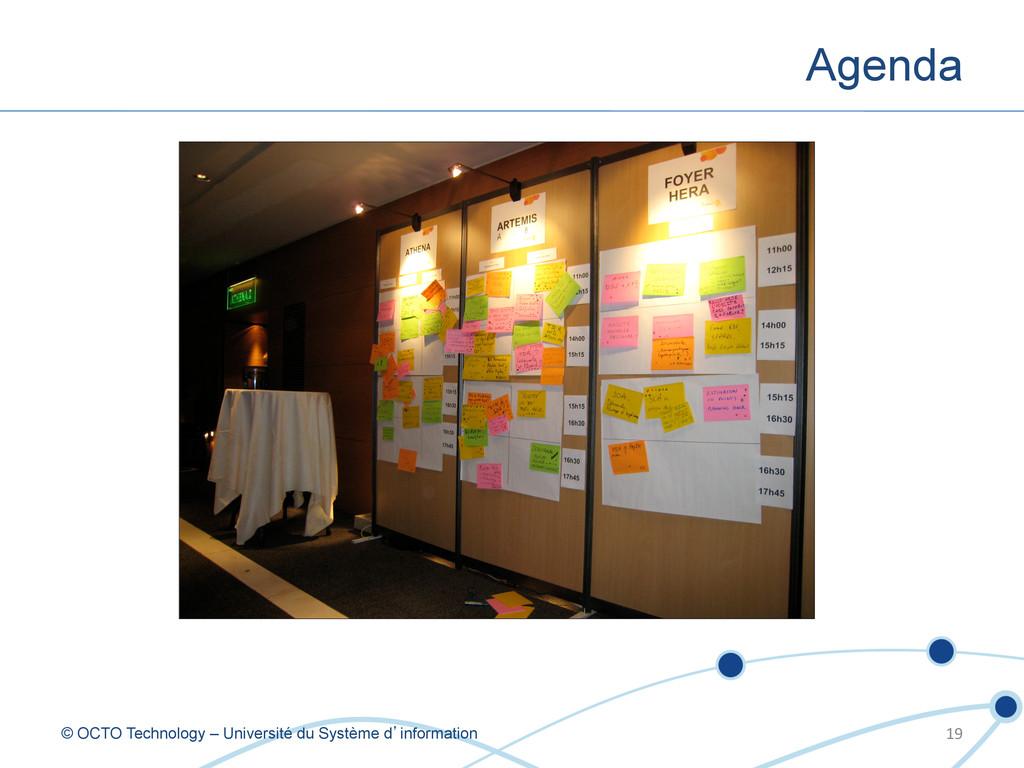 Agenda © OCTO Technology – Université du Systèm...
