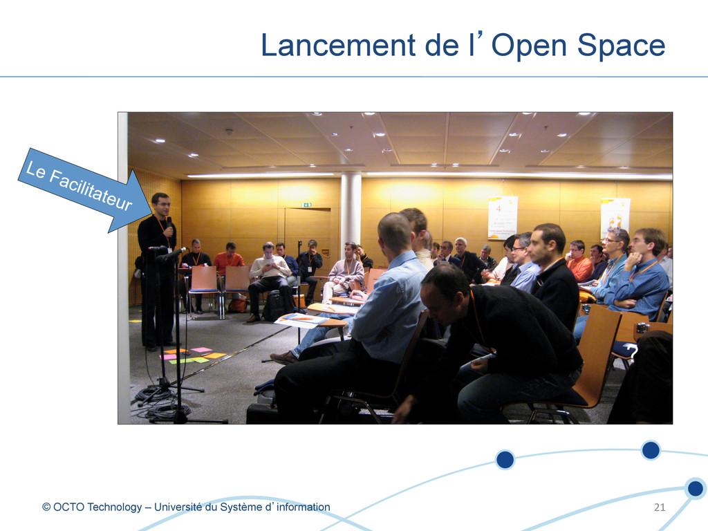 Lancement de l'Open Space © OCTO Technology – U...