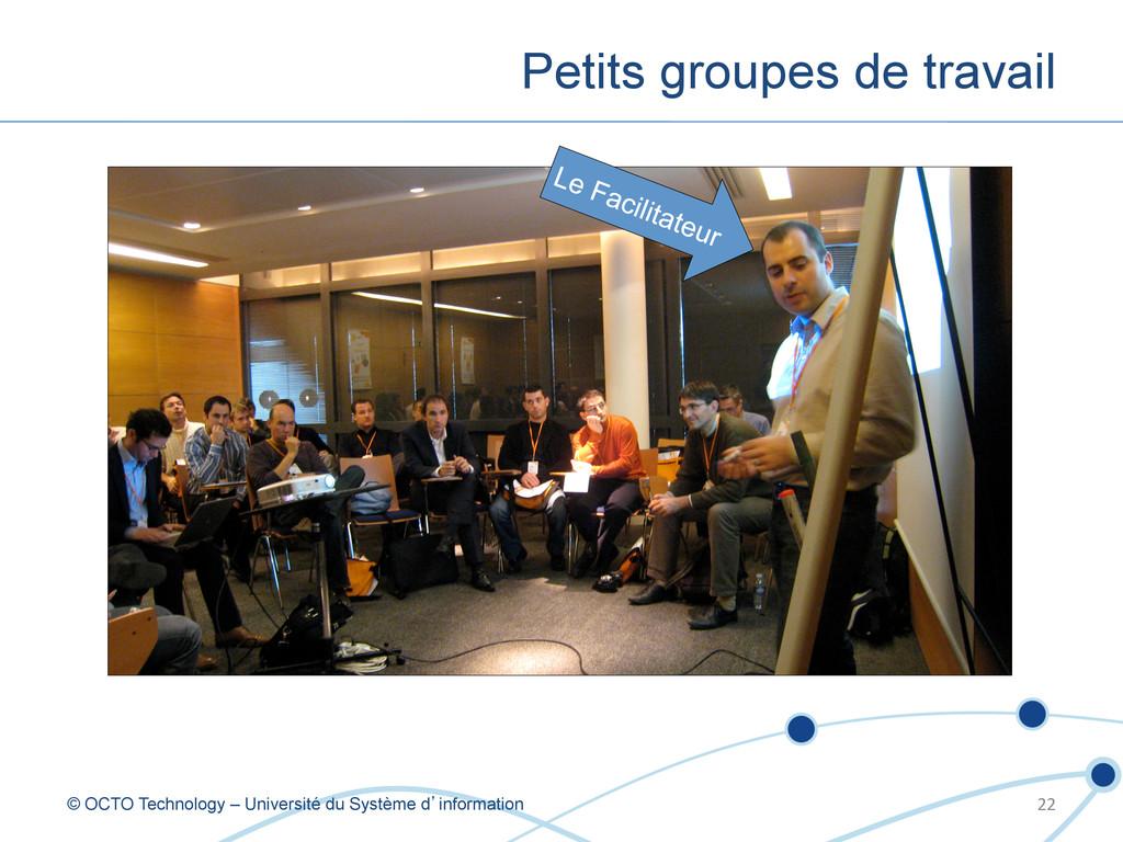 Petits groupes de travail © OCTO Technology – U...